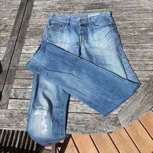 Perfect Patina Gas jeans, 27 x 34